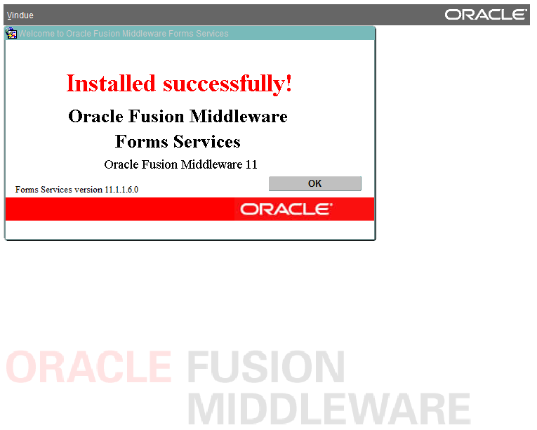 Installing Oracle Forms/Reports 11 1 1 6 on Red Hat 6 (64-bit) using