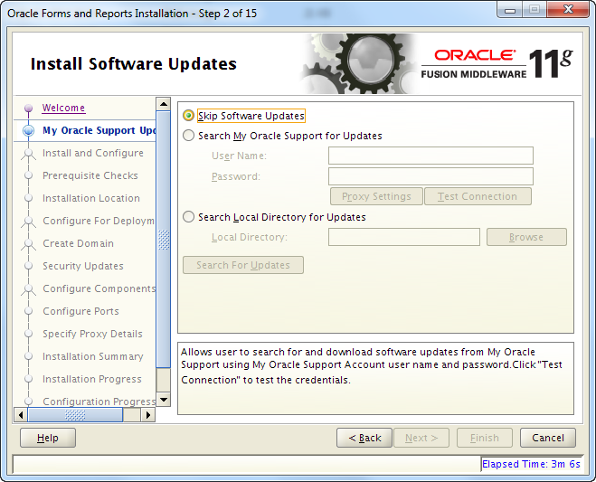 Installing Oracle Forms/Reports 11 1 2 2 0 on Red Hat 6